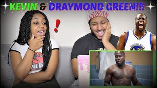 """Kevin Hart + Draymond Green on Kevin Durant to Golden State """"Cold as Balls"""" REACTION!!!"""