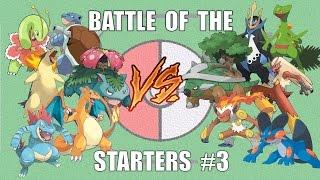 Battle of the Starters #3 - Pokémon Battle Revolution (1080p 60fps)