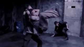 The Raid Redemption Fight scene Mad dog