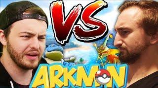 EPIC SHOWDOWN VS ANDREW -  ARK SURVIVAL EVOLVED POKEMON MOD (ARKMON) #9