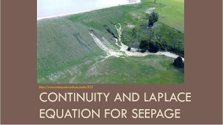 CEEN 341 -  Lecture 8 - Continuity and Laplace Equation