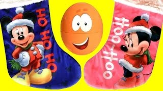 SURPRISE Bubble Guppies Stacking Cups Mickey Minnie Stockings Christmas MyLittle Pony Play-Doh