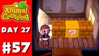 Animal Crossing: New Leaf - Part 57 - Upstairs (Nintendo 3DS Gameplay Walkthrough Day 27)