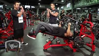 برنامج #بودي بلدينغ bodybuilding المحترف عمر الخلف والبطل خالد الانصاري السبت الجزء الاول2017/10/14