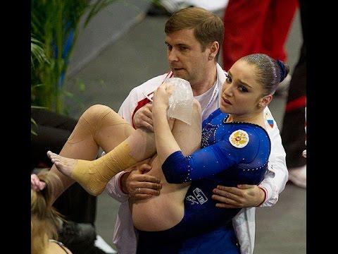 Gymnastics Huge Fail Compilation Гим� астика паде� ия и � еудачи