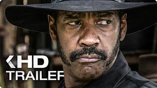 The Magnificent Seven ALL Trailer & Clips (2016)