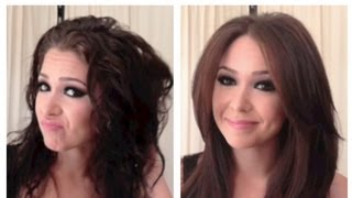 Silky Smooth Blowout/Blowdry Tutorial for Coarse, Frizzy & Curly Hair