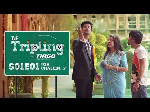 TVF Tripling S01E01 - 'Toh Chalein...?' | Binge watch all 5 episodes on TVFPlay (App/Website)