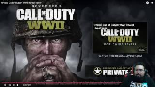 COD WWII | Opinion del trailer con AG BEAN3R ¿ Que esperas del juego ?