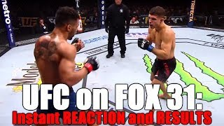 UFC on FOX 31: Results and Reaction