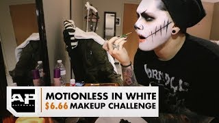 The $6.66 Makeup Challenge With Ghost of Motionless In White