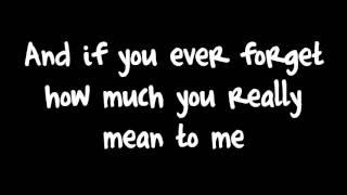 Count On Mebruno Mars  Lyrics