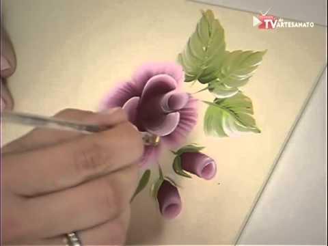 Pintura Gestual Rosas