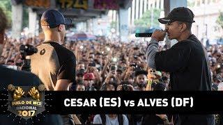 César [ES] vs Alves [DF] (1ªFase) - DUELO DE MCS NACIONAL 2017