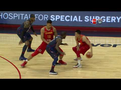 USA vs China Exhibition Game Full