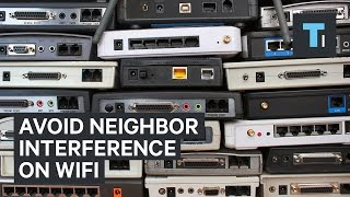 How to change your WiFi channel and avoid neighbor interference