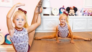 EVERLEIGH TEACHES HER FAVORITE DANCE MOVES!!! (5 year old instructor)