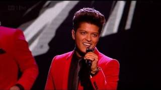 Runaway Baby with Bruno Mars - The X Factor 2011 Live Results Show 3 - itv.com/xfactor