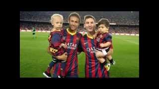 Funny moments, Messi and Neymar