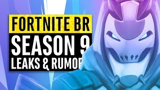 Fortnite   Season 9 Leaks and Insane Theories