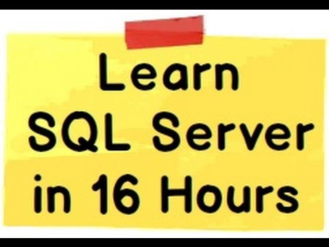 Download Learn SQL Server step by step tutorial - Part 1  ( Beginner series) free