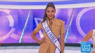 Entrevista Andrea Tovar a pocos dias del Miss Universo
