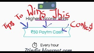 Tips And Tricks For Play And Quiz Contest In Taskbucks (in Hindi)