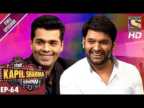 The Kapil Sharma Show - दी कपिल शर्मा शो-Ep-64-Karan Johar In Kapil's Show–3rd Dec 2016