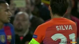 David Silva vs Barcelona Away 19/10/2016