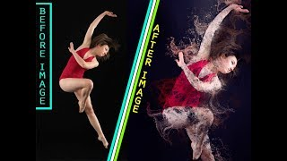 How To Download And Use Water Scatter 2 Photoshop Action in Photoshop CS3