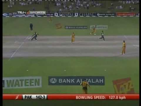 Kamran Akmal 116 v Australia 5th ODI Dubai 2009