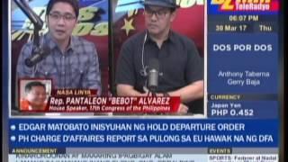 Alvarez also admits having