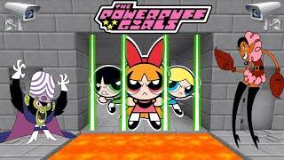 THE POWERPUFF GIRLS (MINECRAFT SCAPE PRISON)