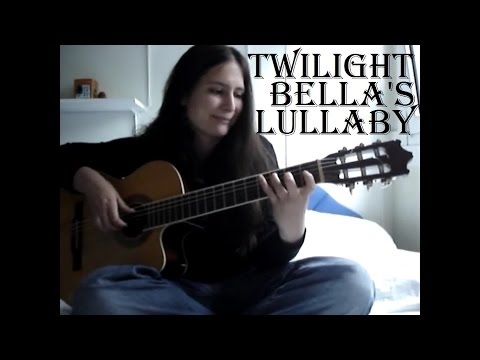 Download Twilight  Bella's Lullaby  Guitar (w TABS!!!) guitar cover free