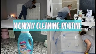 MONDAY CLEANING ROUTINE + SOMETHING BAD HAPPENED 😭