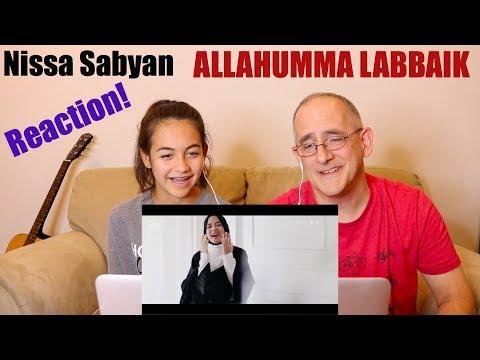 SABYAN - ALLAHUMMA LABBAIK   REACTION