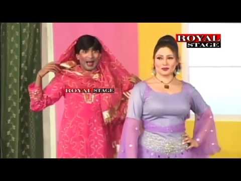 Best of  Sajan Abbas & Khushboo  Pakistani Punjabi Stage Drama Full Comedy HD 2015