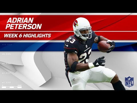 Xxx Mp4 Adrian Peterson S 1st Game In A Cardinals Jersey Bucs Vs Cardinals Wk 6 Player Highlights 3gp Sex