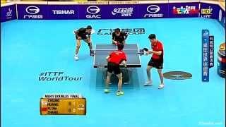2015 Kuwait Open (MD-Final) XU Xin/ZHANG Jike - CHIANG H-C/HUANG S-S [HD 1080p] [Full Match/Chinese]