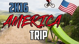AMERICA TRIP 2016 // Colorado Freeride Fest and WHISTLER BIKEPARK with Max Mey