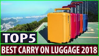 Best Carry On Luggage 2018 || Best Carry On Luggage For Business Travel