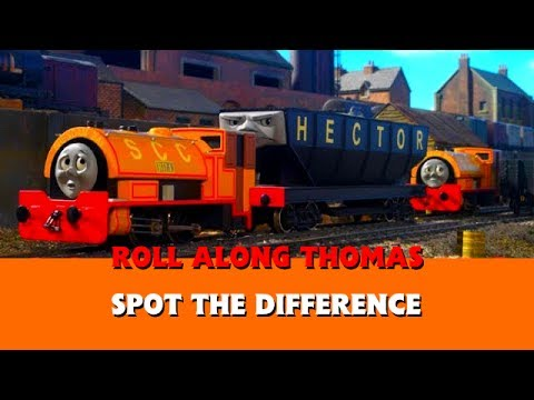 Roll Along Thomas Thomas & Friends Spot the Difference