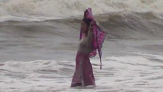 Most Safe Place For Sea Bathing- Cox's Bazar Sea Beach, Bangladesh