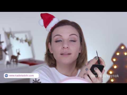 Merve Özkaynak ile KadınlarBilir özel: Yılbaşı makyajı