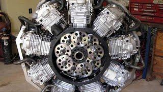 أروع المحركات المصنوعة يدويا مذهلة روعه  ممتعه ......!
