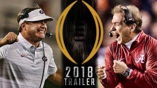 National Championship Trailer 2018 - Alabama vs Georgia