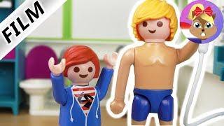 Playmobil filmpje Nederlands - JULIAN ZIET PAPA NAAKT! TYPISCH JULIAN! Kinderserie familie Vogel