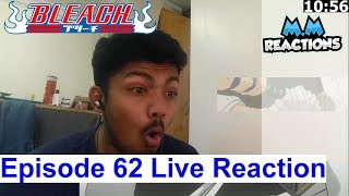 TO the Other Side - Bleach Anime Episode 62 Live Reaction