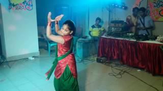 Baje re baje dhol r dhak dance by shaima shreya