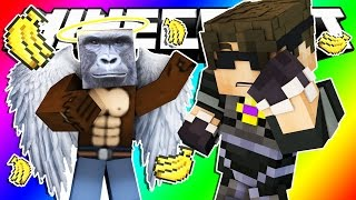 Minecraft Do Not Laugh | HARAMBE RETURNS, THE ULTIMATE CELEBRITY! (Funny Moments!)
